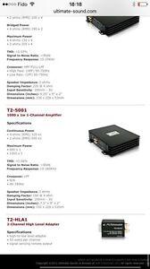 Ultimate T2 5001 amplificateur MONO 1x500w West Island Greater Montréal image 3