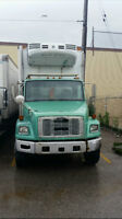 2003 Freightliner Straight Truck w/ Reefer + JOB CONTRACT