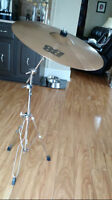 REDUCED: Sabian Ride Cymbal + Boom Stand