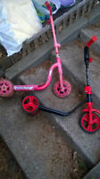"BIKE/TRICYCLE/TRIKE ""FISHER PRICE"" DORA, SCOOTERS, LAWN MOWER"