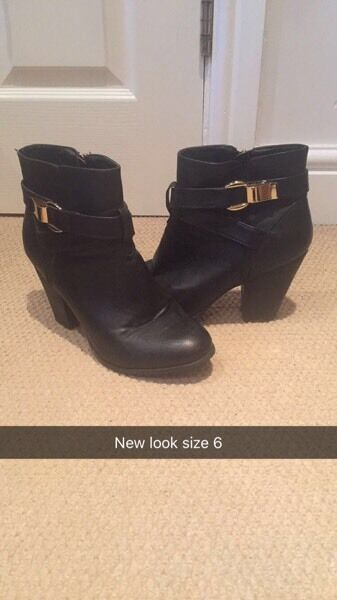 Leather size 6 new look bootsin Gloucester Road, BristolGumtree - Brilliant condition new look boots. Only worn a handful of times so in excellent condition. Willing to deliver for petrol money