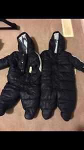 Two snowsuits new with tags size 3-6 months