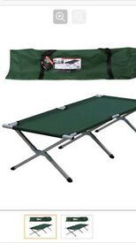 Camping bed folding lightweight with bag