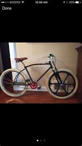 Vintage 1960's CCM Frame. Cruiser. Rat Rod Bicycle.