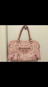 Pink laced bag Kitchener / Waterloo Kitchener Area image 1