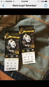 Knight tickets for Saturday  London Ontario image 1