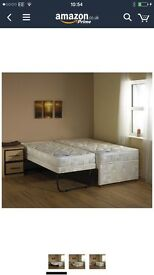 Pull out single bed - (1 mattress)
