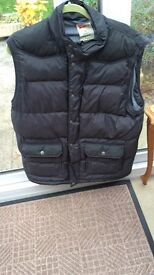Red green mans gilet