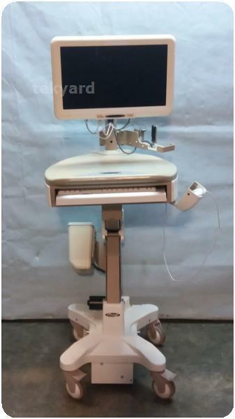 STINGER MEDICAL LEVITATOR PORTABLE COMPUTER / LAPTOP WORKSTATION CART % (229334)
