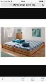 HOME Stakka II Guestbed and mattresses - Pine -From the Argos Shop