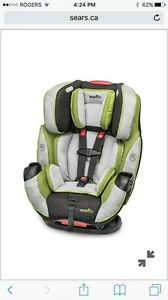 Evenflo Symphony Elite car seat  Kitchener / Waterloo Kitchener Area image 1