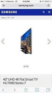"40"" UHD 4K Flat Smart TV HU7000 Series"