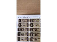 Paintballing tickets