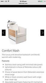 2 WELONDA COMFORT WASH BASINS RRP £5000
