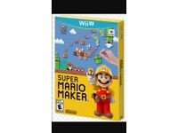 Mario maker with box and booklet £20