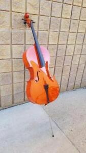 Cecilio CCO-100 Student Cello with Hard and Soft  Case