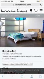 Brighton bed frame (warrenevans) king size
