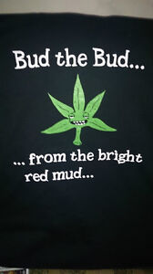 Bud the Bud from the bright red mud t-shirt