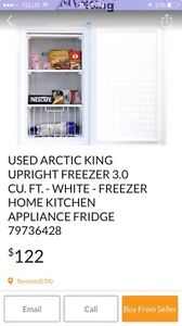 Wanted mini upright freezer