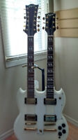 NEW LOGICAL DOUBLE NECK SG WITH CASE