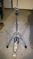 Hi hat stand with adjustable tension