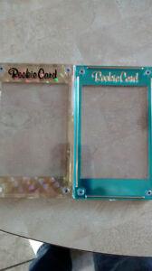 ROOKIE CARD HOLDERS