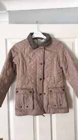 Girls next Barbour style jacket 9-10