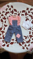 Patch Doll Overalls,1972