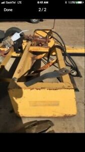 Cammond 10' scraper land leveler