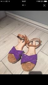 Size 6 H by Henry Holland sandals