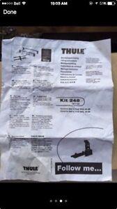 Thule fit kit 248, Toyota RAV4 roof rack