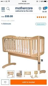 Mothercare swing cot