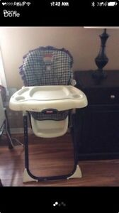 Fisher price high chair 10$