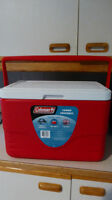 Coleman's cooler plus 2 ice packs for free