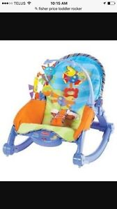 Fisher price Infant toddler rocker chair