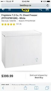 Excellent, like NEW Frigidaire freezer