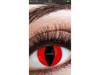 Halloween Cosmetic contact lenses