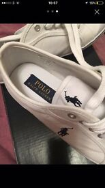 Ralph Lauren ladies trainers size 6