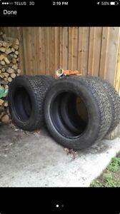 Winter tires 255/60/19