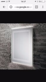 Bathroom Mirror with built in LED lighting