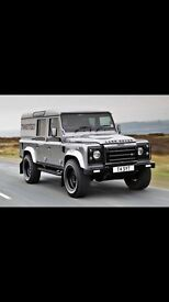 Land Rover defenders WANTED. Cars vans classic cars motorhomes