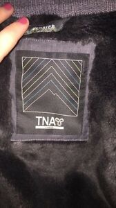 """TNA """"VERBIER"""" Winter Parka in Charcoal London Ontario image 2"""