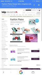 Fashion plates set Kitchener / Waterloo Kitchener Area image 3