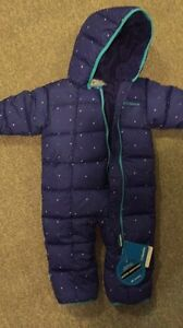 12-18 Months Baby Girl's Columbia Snow Suit
