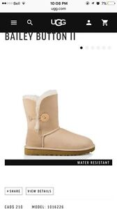 UGG BOOTS BAILEY BUTTON West Island Greater Montréal image 5