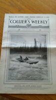 Authentic 1899 Collier's Weekly Magazine Klondike Gold Rush