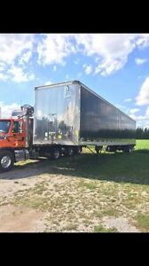 53' van trailer