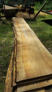 4.5m rough sawn timber slabs