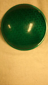 used ..green signal lens 8 5/ 16