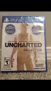 SEALED ps4 Uncharted The Nathan drake collection